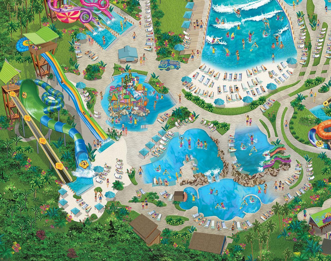 map of seaworld san antonio Tassie S Twisters Tube Slide Aquatica San Antonio map of seaworld san antonio