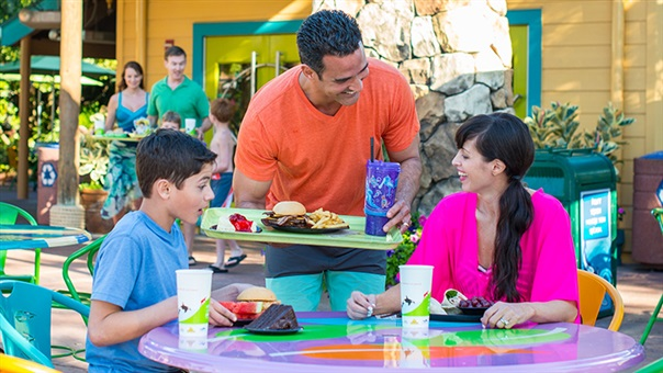 SeaWorld and Aquatica Orlando Eat Free Package