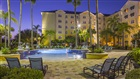 Residence Inn Exterior Pool Night