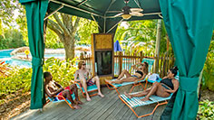 Enjoy a Cabana at Aquatica Orlando