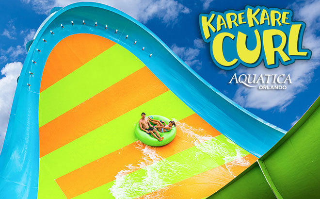 KareKare Curl at Aquatica Orlando