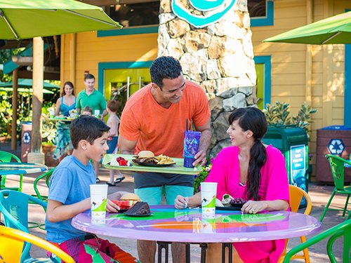 All Day Dining at Aquatica Orlando