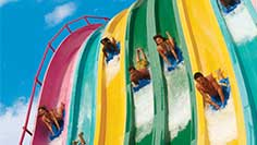 Ride and Slides at Aquatica San Antonio
